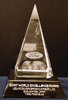 Ford World Excellence Award.